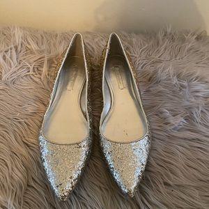 Zara- Glitter ombré flats